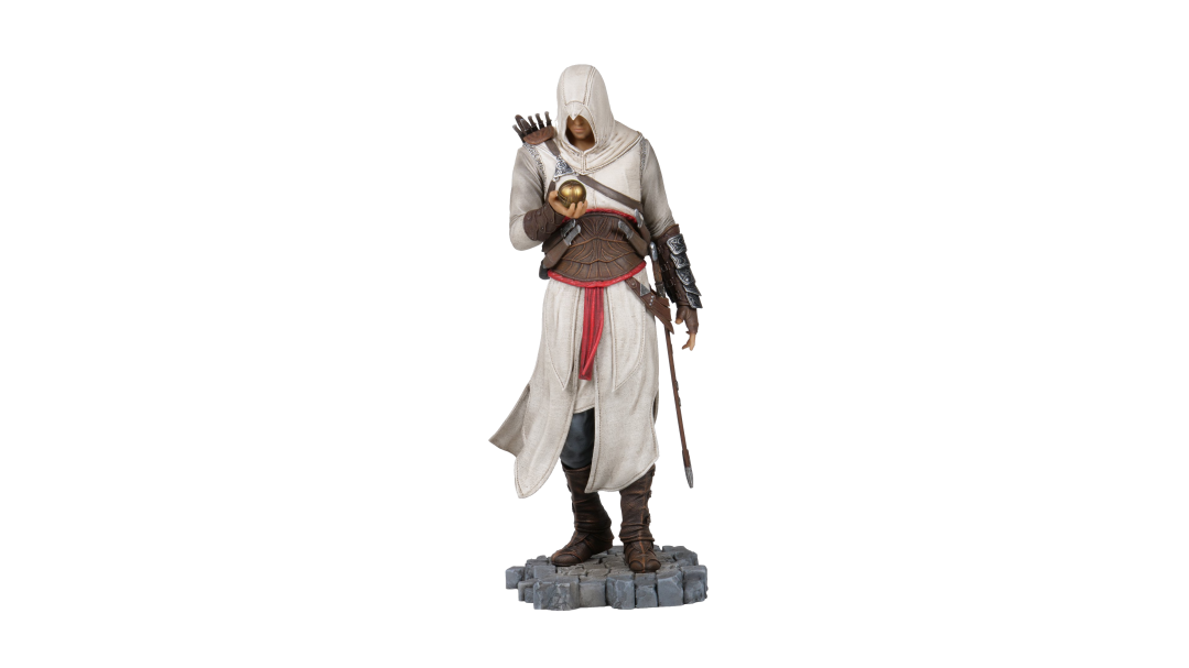 Altaïr Ibn-La'Ahad with Apple of Eden